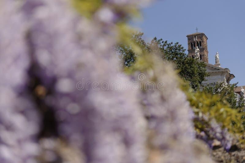 Römische Ruinen, Italien stockfotos
