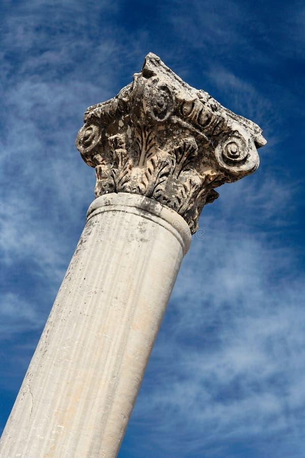 Römische Spalte stockbild