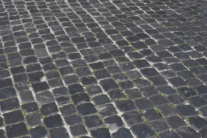 Römische Straße lizenzfreie stockfotografie