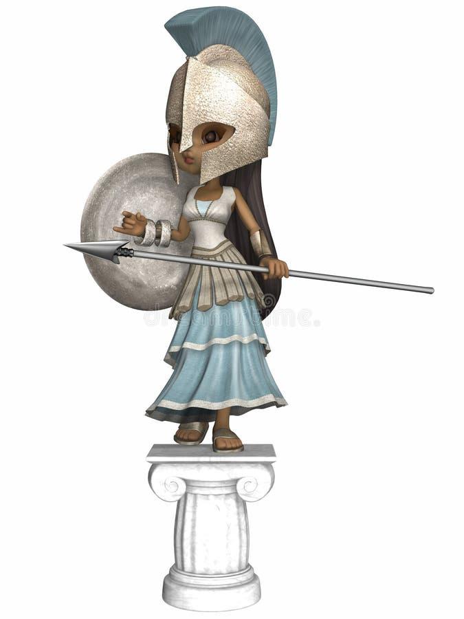 Römischer Befehlshaber stock abbildung