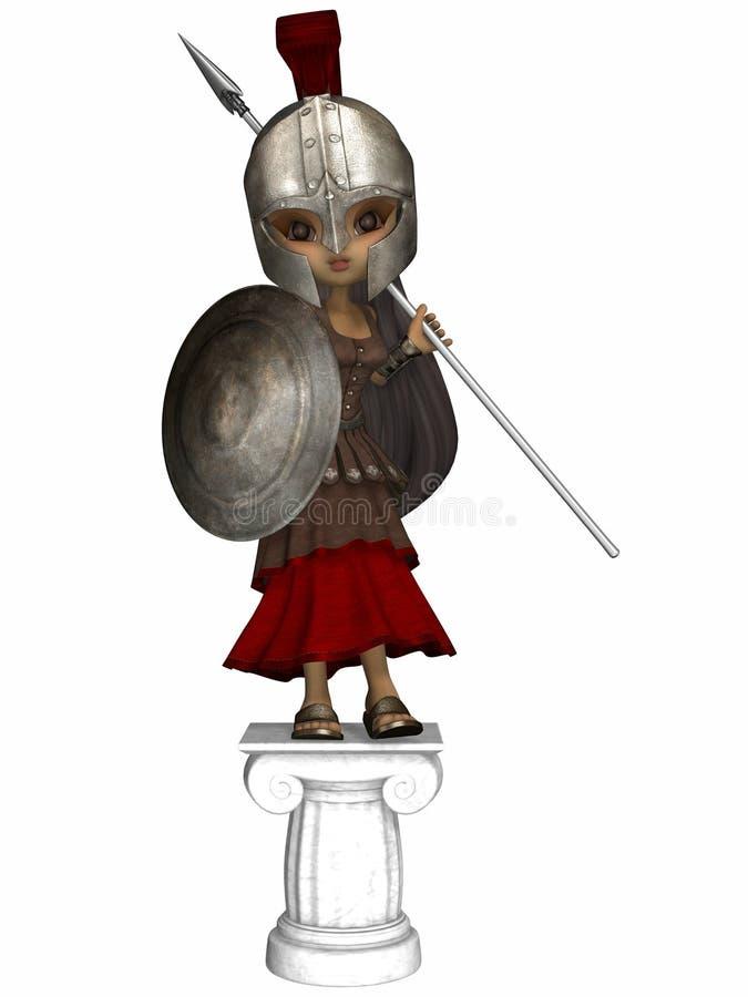 Römischer Befehlshaber vektor abbildung