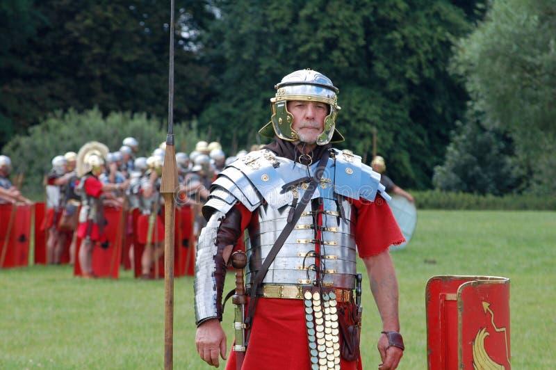 Römischer Befehlshaber stockfotos