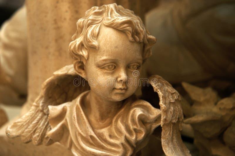 Römischer Engel lizenzfreie stockbilder