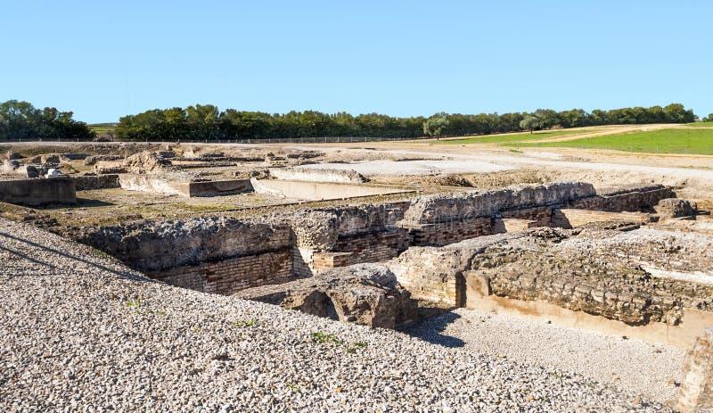 Download Römisches Archäologisches Bleibt Stockbild - Bild von alter, rekonstruktion: 27727241