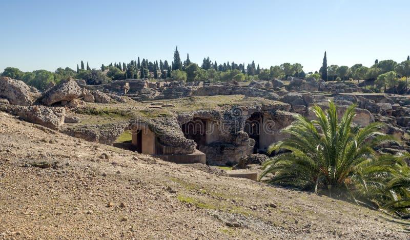 Download Römisches Forum Italica stockbild. Bild von tageszeit - 27725617