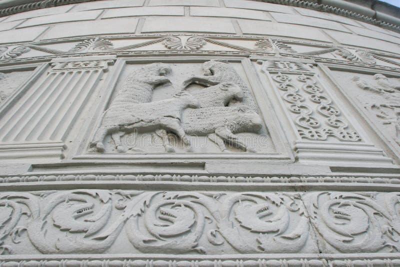 Römisches Monument in Adamclisi lizenzfreie stockfotografie