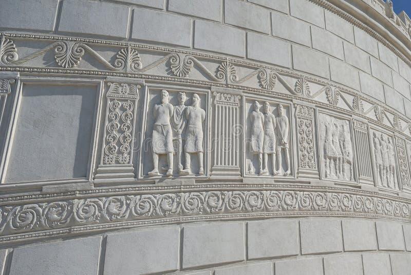 Römisches Monument in Adamclisi, Rumänien lizenzfreies stockfoto