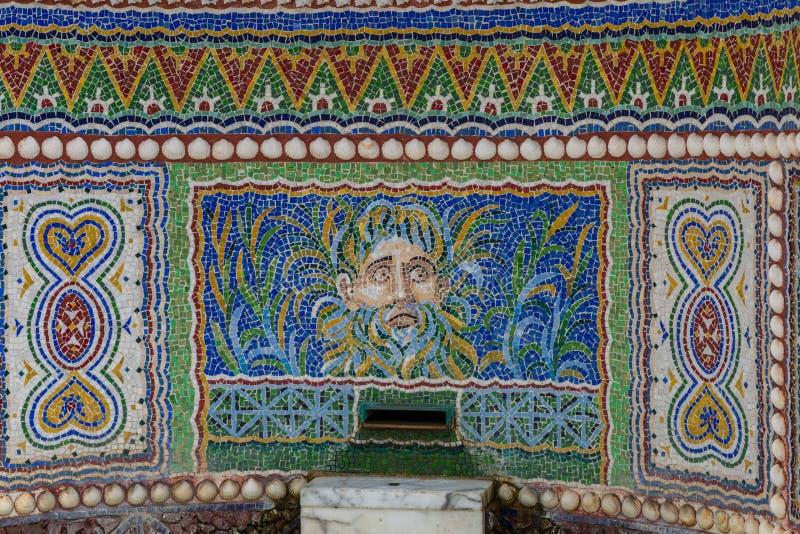Römisches Mosaik stockfoto