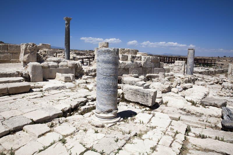Römisches Theater von Kourion lizenzfreie stockfotos