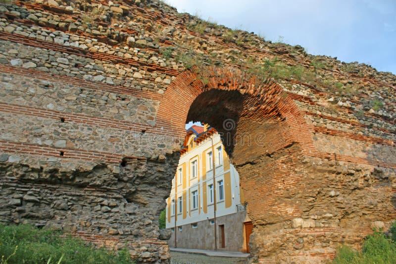 Römisches Tor Hisarya, Bulgarien lizenzfreie stockbilder
