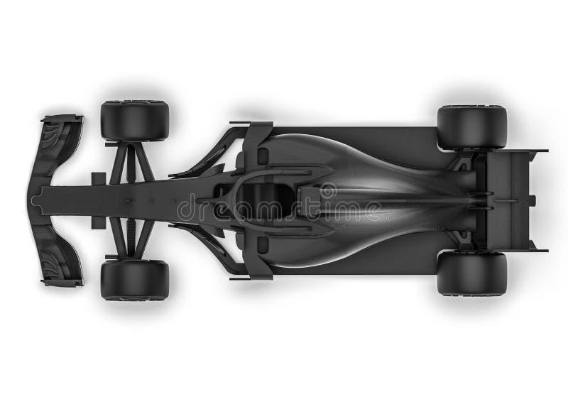 Röntgenfotografering för bil F1 royaltyfri illustrationer