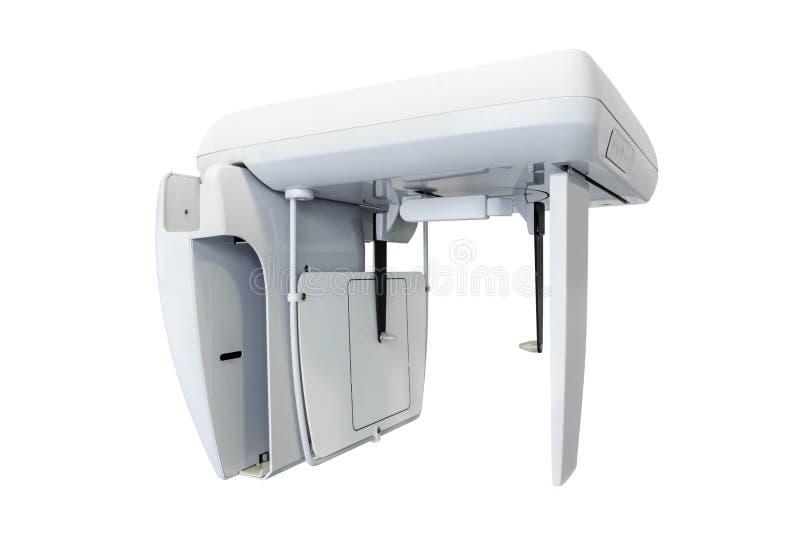 Röntgenmaschine auf weißem Hintergrund lizenzfreies stockfoto