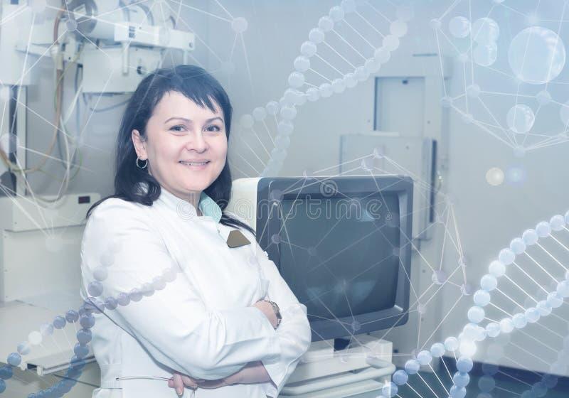Röntgenstråleundersökning som är klar att starta royaltyfria foton