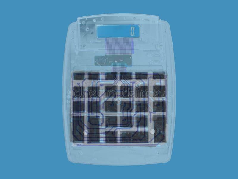 Röntgenstraalcalculator royalty-vrije stock afbeeldingen