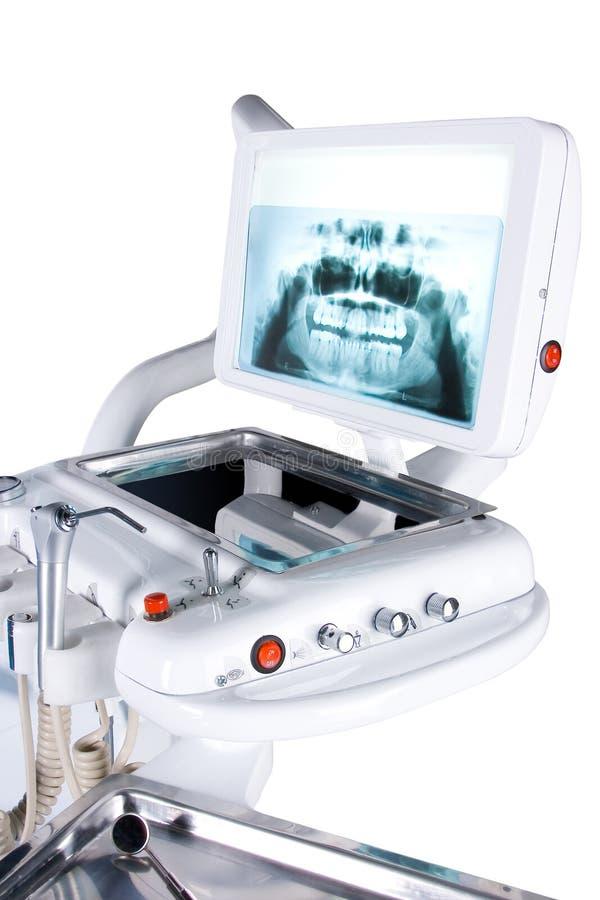 Röntgenstrahl der Zähne stockbild