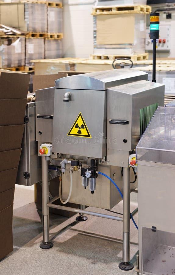Röntgenstrahlqualitätskontrolleeinheit lizenzfreies stockfoto