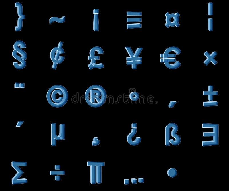 Röntgenstrahlsymbole stockfotos