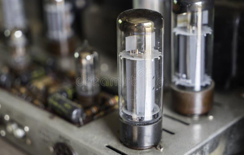 Rör ampere (förstärkaren) arkivbilder