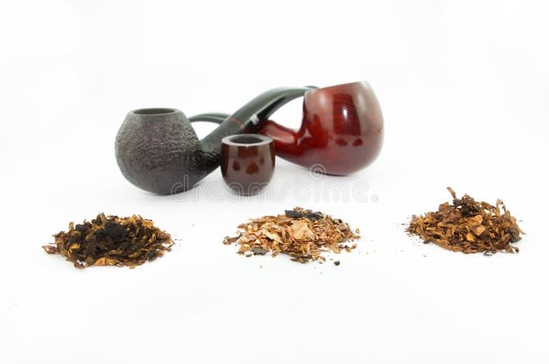 Rör och tobak arkivbild