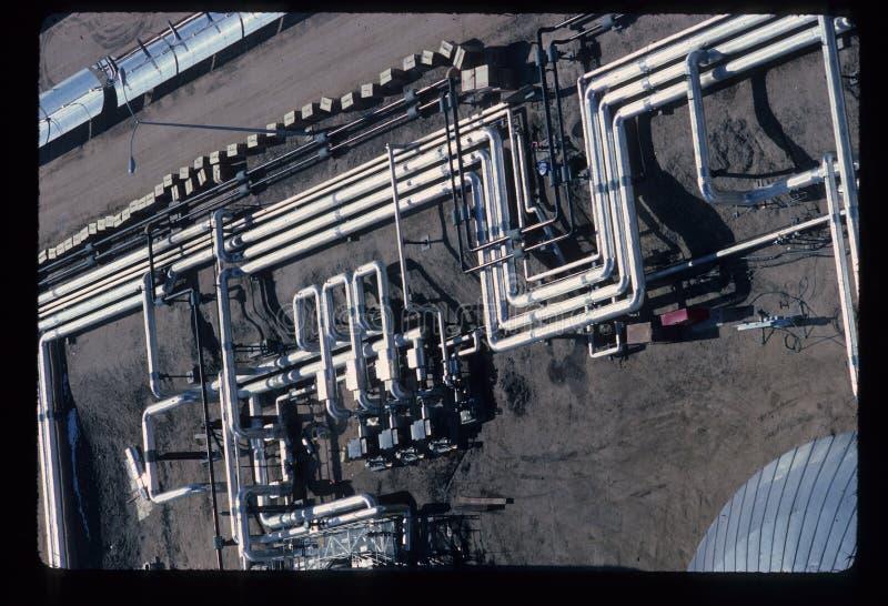 Rör sydliga Kalifornien Edison Solar Power Plant arkivfoto
