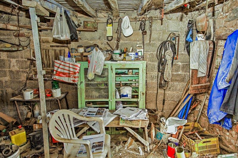 Röra i lagringsrum fotografering för bildbyråer