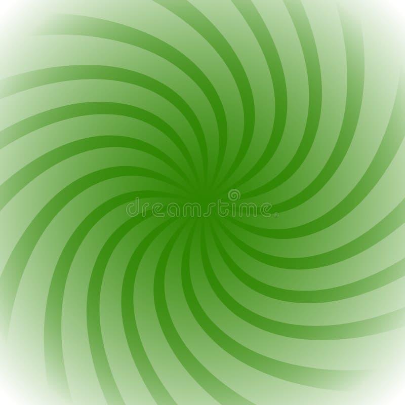 Röra sig i spiral virvelstarburst, färgrik bakgrund för sunburst Lätt till vektor illustrationer
