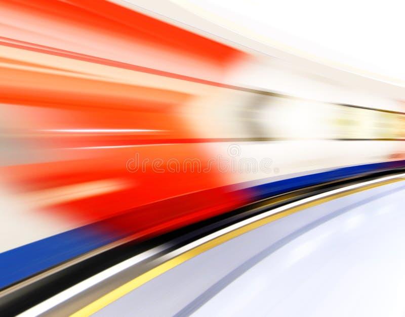 Rörelseeffekt fotografering för bildbyråer