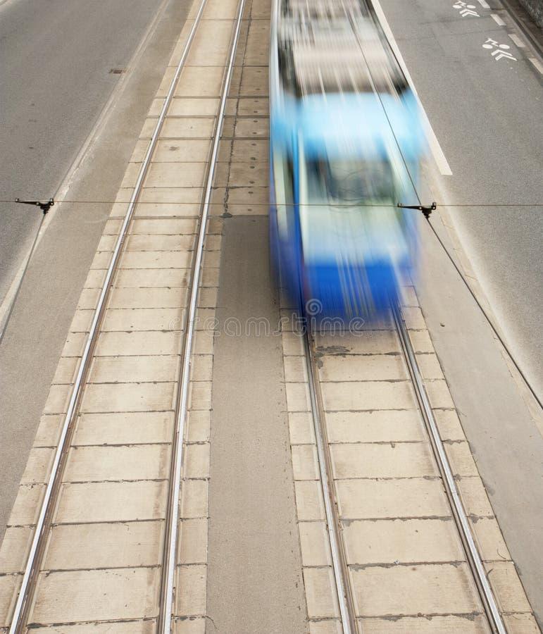 Download Rörelsespårvagn arkivfoto. Bild av gata, trafik, transport - 19784926