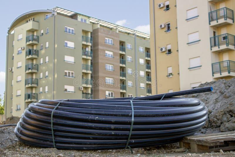 Rörrulle för vattenförsörjning 2 royaltyfria bilder