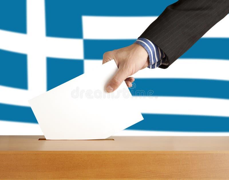 rösta royaltyfri fotografi