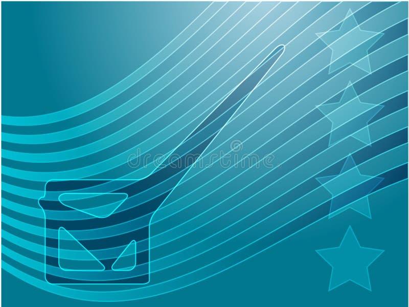 rösta för valUSA vektor illustrationer