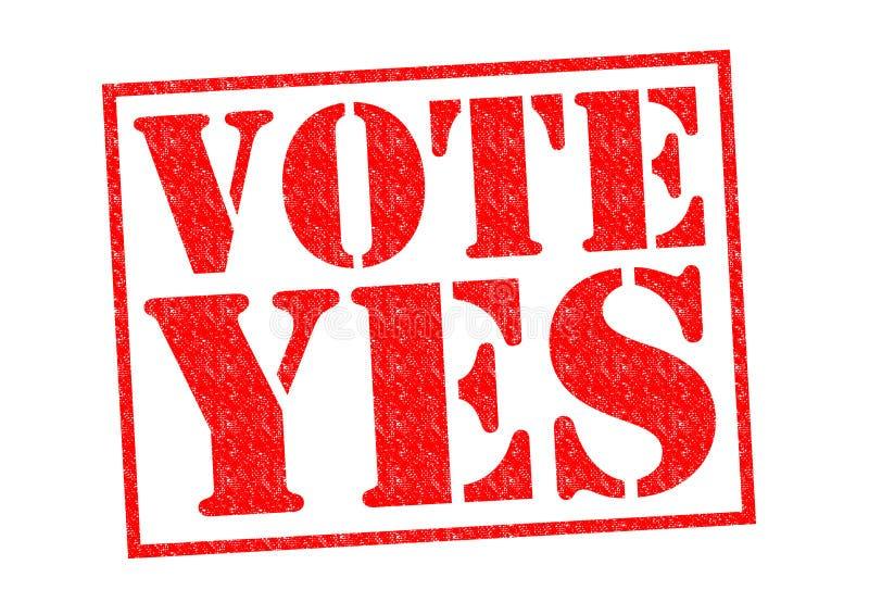 rösta ja royaltyfri illustrationer