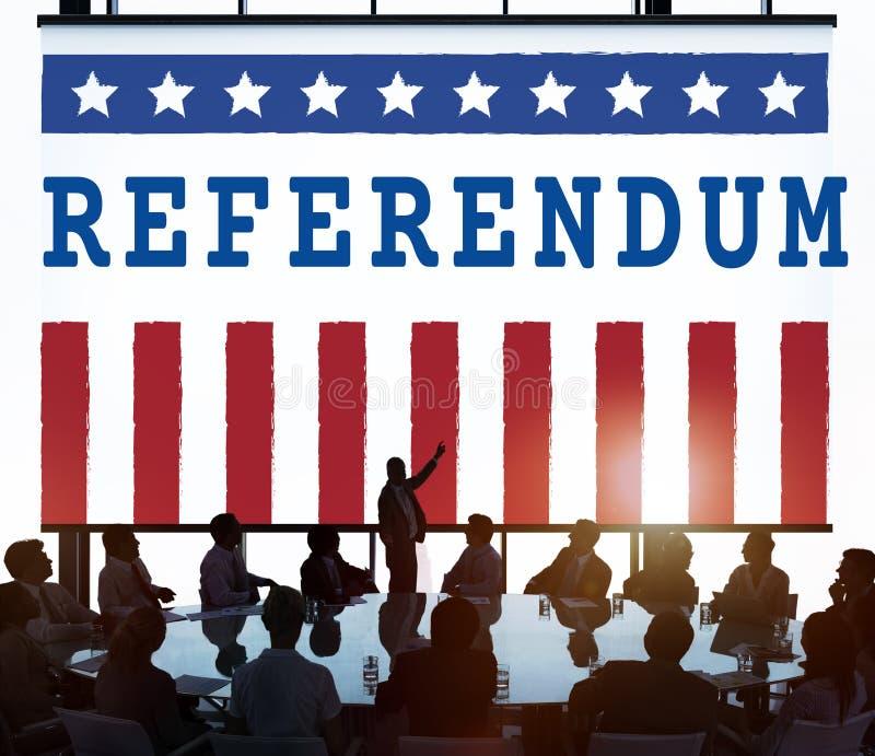 Röstar regerings- folkomröstningdemokrati för politik begrepp arkivfoton