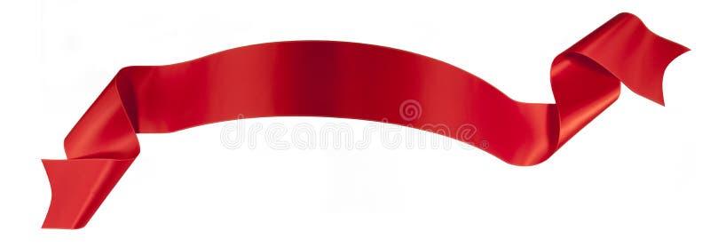 Rött band arkivbilder