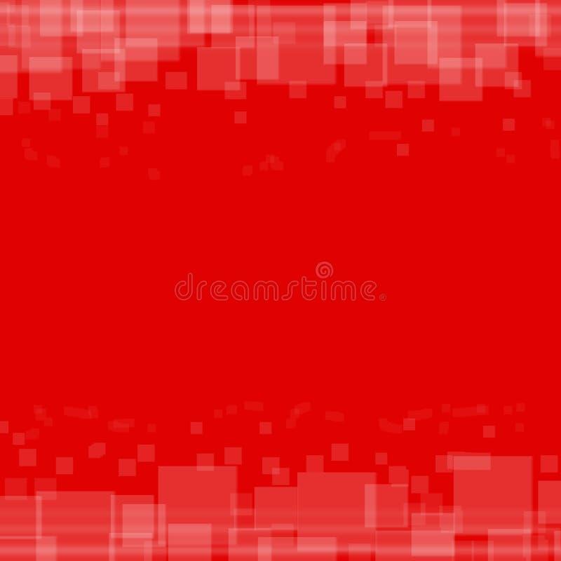 rött enkelt för bakgrund stock illustrationer