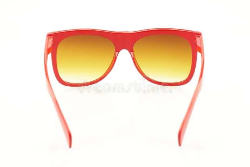 rött glasögon fotografering för bildbyråer
