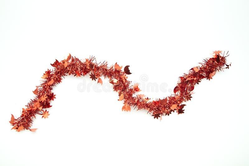 Rött glitter för jul stock illustrationer