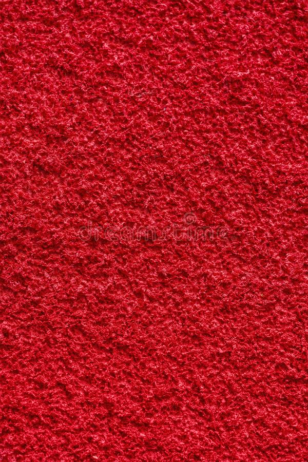Rött material för etylenvinylAcetateEVA skum ytbehandlar sömlös bakgrund och textur royaltyfria bilder
