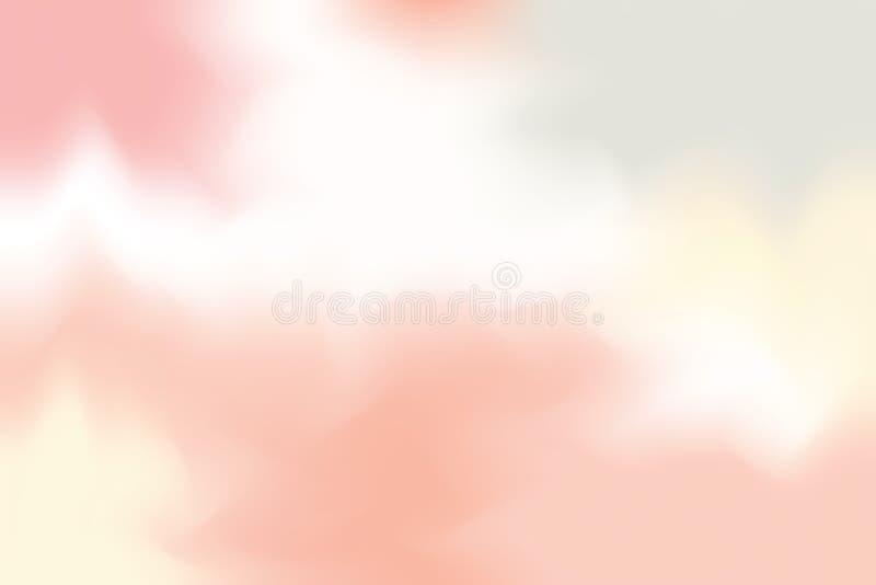 Rött mjukt för bakgrundsmålning för pastellfärgad färg blandat abstrakt begrepp för pastell för konst, färgrik konsttapet vektor illustrationer