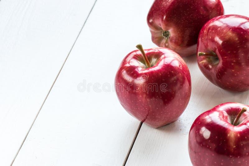 rött moget för äpplen royaltyfria foton