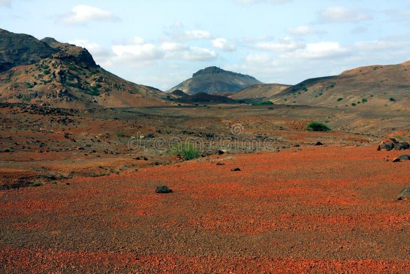 Rött planet royaltyfri bild