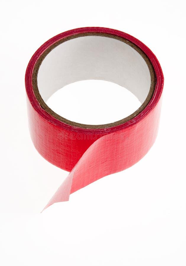 rött rullband för kanal royaltyfri bild