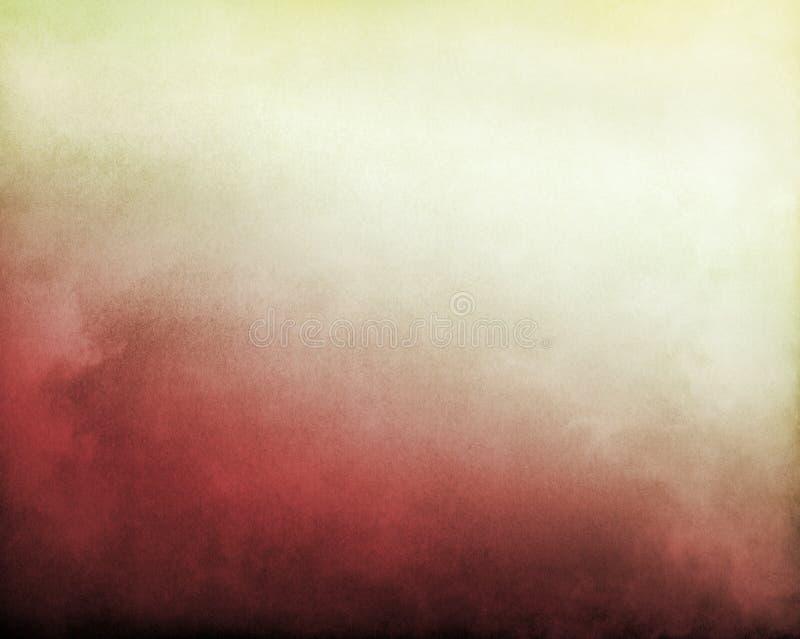 Rött till vit dimma arkivbilder