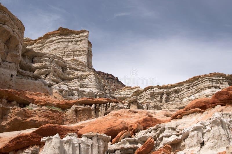 Rött vagga kanjondelstatsparken, Kalifornien, USA royaltyfri foto