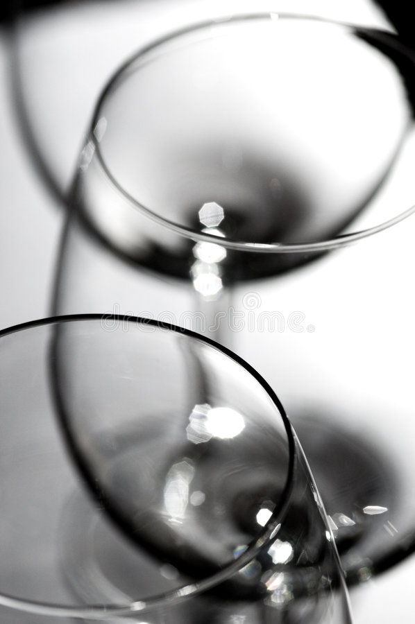 rött vin glasses2 arkivbilder