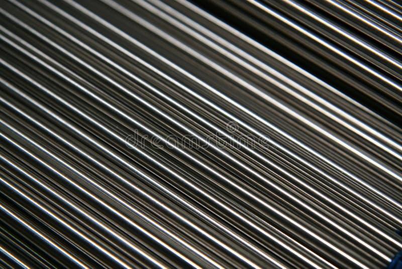 rør som skiner stål arkivbilder