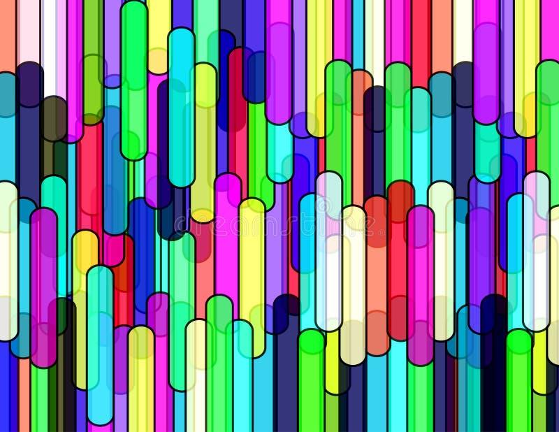rør texture vertical vektor illustrationer
