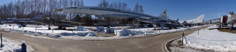 Rússia Caminhada em torno de Moscou Monino Inverno imagens de stock
