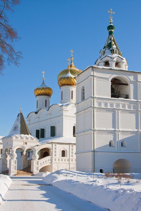 Rússia, monastério de Ipatievsky imagens de stock