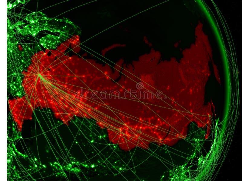 Rússia na terra verde imagens de stock royalty free